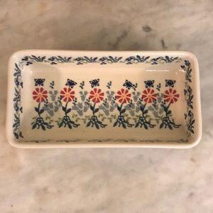 Polish Pottery-Small Loaf Pan